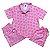 Pijama Camisa Mamãe MONSTRINHOS ROSA - Imagem 1