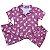 Pijama Camisa Infantil PANDAS ROSA - Imagem 1