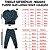 Pijama Infantil SLIM DINOS MARINHO - Imagem 5