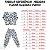 Pijama 100% Algodão PUNHO DINOS BLUE - Imagem 4