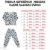 Pijama 100% Algodão PUNHO DINOS GREEN - Imagem 4