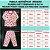 Pijama Infantil Soft ESTRELAS AZUL CLARO - Imagem 5
