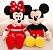 Mickey e Minnie de Pelúcia 40cm - Imagem 2
