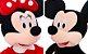 Mickey e Minnie de Pelúcia 40cm - Imagem 1