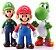 Boneco Mario e Luigi com Yoshi - Imagem 1