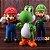 Boneco Mario e Luigi com Yoshi - Imagem 2