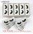 Caixa de Cílios Postiços Atacado caixa com 100 pares - Imagem 3