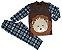Pijama infantil masculino soft leão - Imagem 1