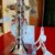 Abajur Lin Benda 564  Vidro C/ Cupula - Imagem 2