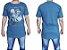 Camisas Masculina Longline Estampada  - Imagem 3