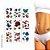 9 Cartelas | Tatuagem Temporária Depilação 3D - Imagem 1