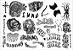 Kit Tatuagens El Diablo - Imagem 1