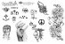 Kit tatuagens Lady Gaga - Imagem 1