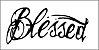Tatuagem Blessed - Imagem 1