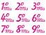 Tatuagens Para Gestantes -  Meses Rosa - Imagem 1