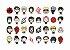 064 Kit Festa 32 Ninja | Anime 3x4. - Imagem 1