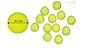 Kit de Discos Verdes  Transparentes ( para 80 folhas) - Octo - Imagem 1
