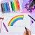 Giz de Cera Color Gel 12 Cores - Imagem 4
