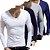 Kit 4 Camiseta Slim Estilo Itália Noblemen's Original  - Imagem 1