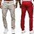 Calça Jeans Sarja Slim Fit Estilo Londres Noblemen's  - Imagem 1