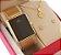 Relógio Champion Feminino Dourado Luxo + Colar E Brincos 18k - Imagem 4