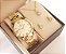 Relógio Champion Feminino Dourado Kit Colar Brincos Original - Imagem 1