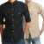 Kit 2 Camisas Social Slim Masculina Estilo Mandarim  - Imagem 1