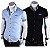 Kit 2 Camisas Manga Curta Masculina Premium Estilo Noruega - Imagem 1