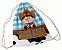 Mochila Saco Personalizada (Sacochila) 26x36cm - Minnie - Imagem 5