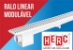 Ralo Sifonado Linear Modulável 50 CM Branco - HERC - Imagem 1