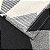 Tapete em tear Lótus antiderrapante 1,32x2,50m - cinza/cru/preto - Imagem 3