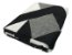 Tapete em tear Lótus antiderrapante 1,32x2,50m - cinza/cru/preto - Imagem 2