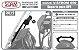 Suporte Gps Suzuki V-strom 650 2019+ Vstrom Preto - Imagem 7