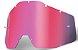 Lente Oculos 100% Racecraft 2 Accuri 2 Strata 2 Rosa - Imagem 1