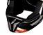 Capacete Bieffe 3 Sport React Branco Vermelho Brilho - Imagem 6