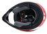 Capacete Bell MX-9 Barricade - Vermelho/Branco/Preto - Imagem 8