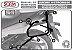 Afastador Alforge Suzuki V-strom 650 2002 a 2013 Preto - Imagem 7