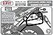 Suporte Baú Lateral Versys 650 2010 a 2014 Preto - Imagem 7