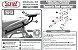 Suporte Baú Superior Versys 650 2010 a 2014 Preto - Imagem 6