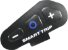 Capacete Peels Icon Fast Azul Smart Trip Comunicador - Imagem 8