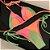 Biquíni Cortininha com Bojo e Calcinha Lacinho Cor Recortes em Neon Reversível - CONJUNTO  - Imagem 5