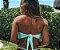 Biquíni Top Faixa com Tule Verde Tiffany - Peça Avulsa - Imagem 2