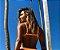 Top de Biquíni Triângulo com Bojo e com Reguladores nas Alças e Costas - Cor Laranja Neon - Peça Avulsa - Imagem 2