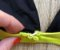 Top de Biquíni Triângulo com Bojo Removível e Alcinhas com Regulador - Preto com Neon - Peça Avulsa - Imagem 4