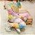 Conjunto Comfy de Moletinho em Tie Dye Rainbow  - Imagem 2
