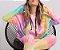 Moletom Fininho Comfy Tie Dye Neon - Blusa  - Imagem 5
