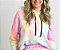 Moletom Fininho Comfy Tie Dye Neon - Blusa  - Imagem 1