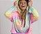 Moletom Fininho Comfy Tie Dye Neon - Blusa  - Imagem 2