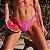 Biquíni Calcinha de Lacinho Pink Atoalhado - Bottom Mel - Imagem 3
