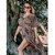 Saída de Praia Vestido Kimono Longo - Estampa Oncinha - Imagem 4